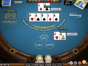 Casino Holdem Poker automatová hra