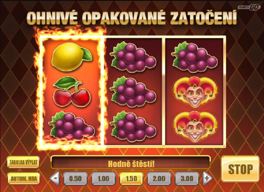 Automatová hra Fire Joker