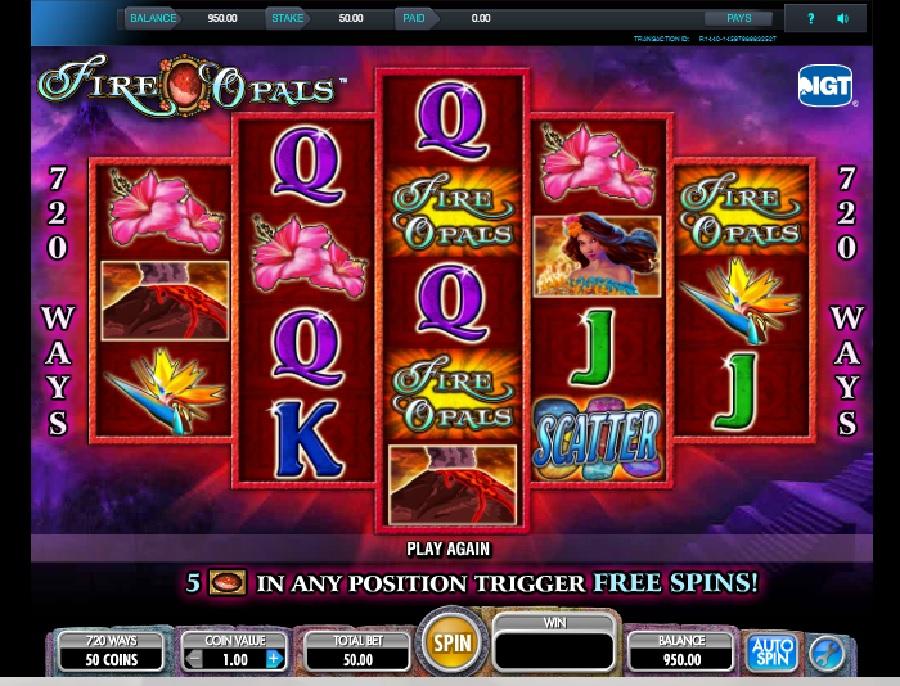 Výherní hrací automaty Fire Opals