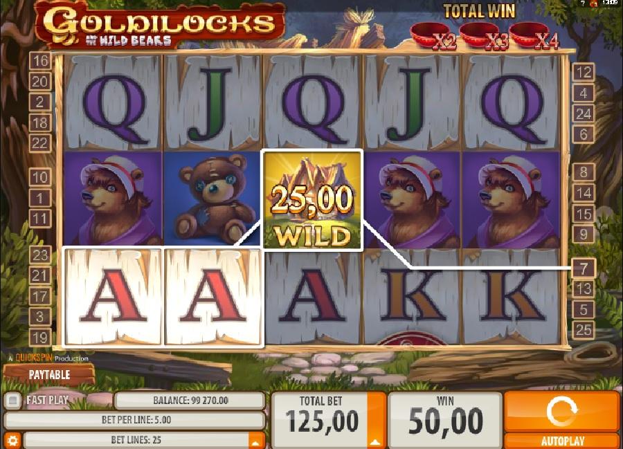 Hracie automaty Goldilocks