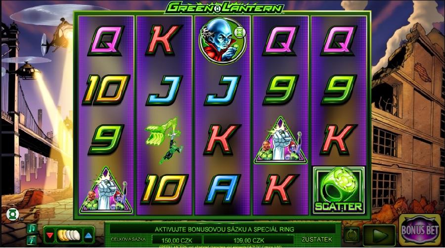 Automaty Green Lantern