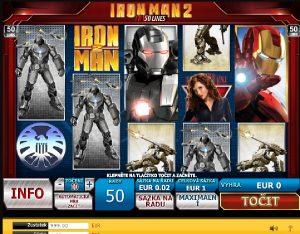 Iron Man 2 automaty online