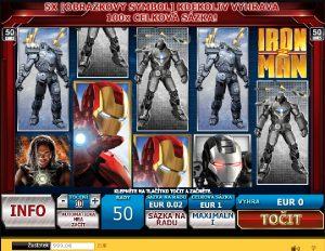Výherní automat Iron Man 2
