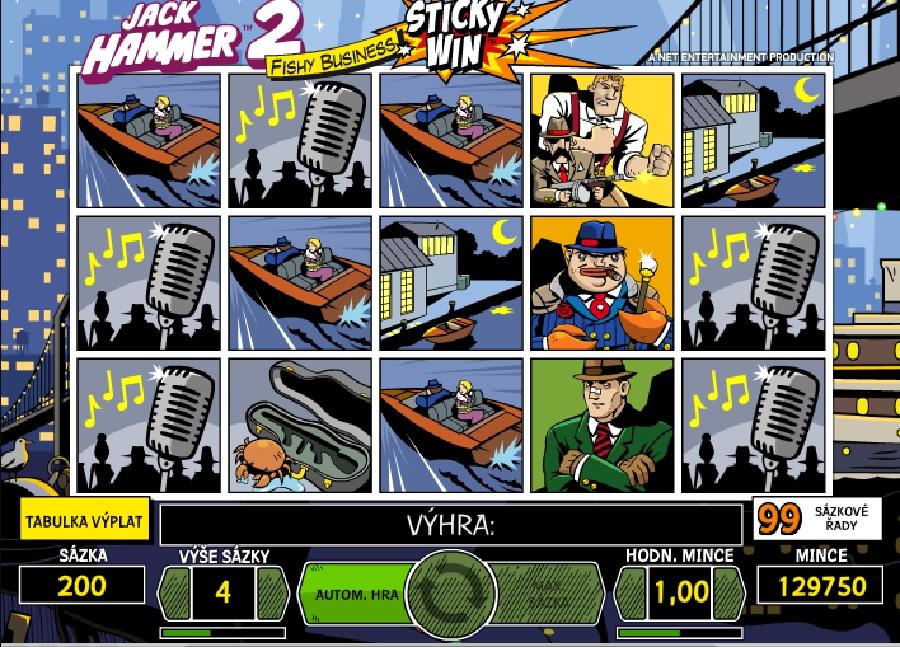 Výherní automaty Jack Hammer 2