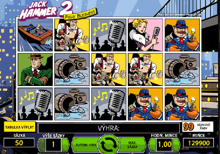 Automaty Jack Hammer 2