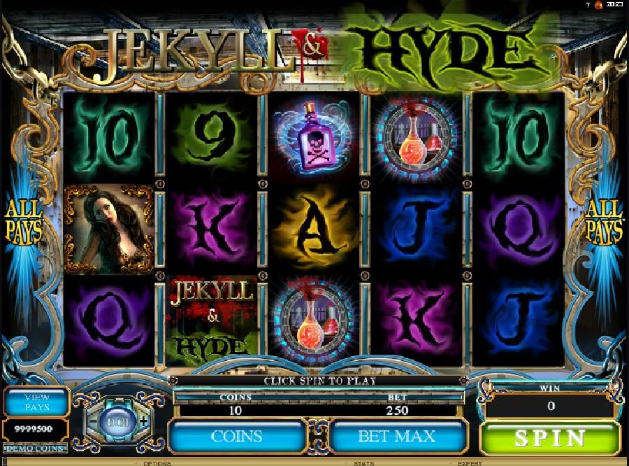 Jekyll and Hyde automatová hra
