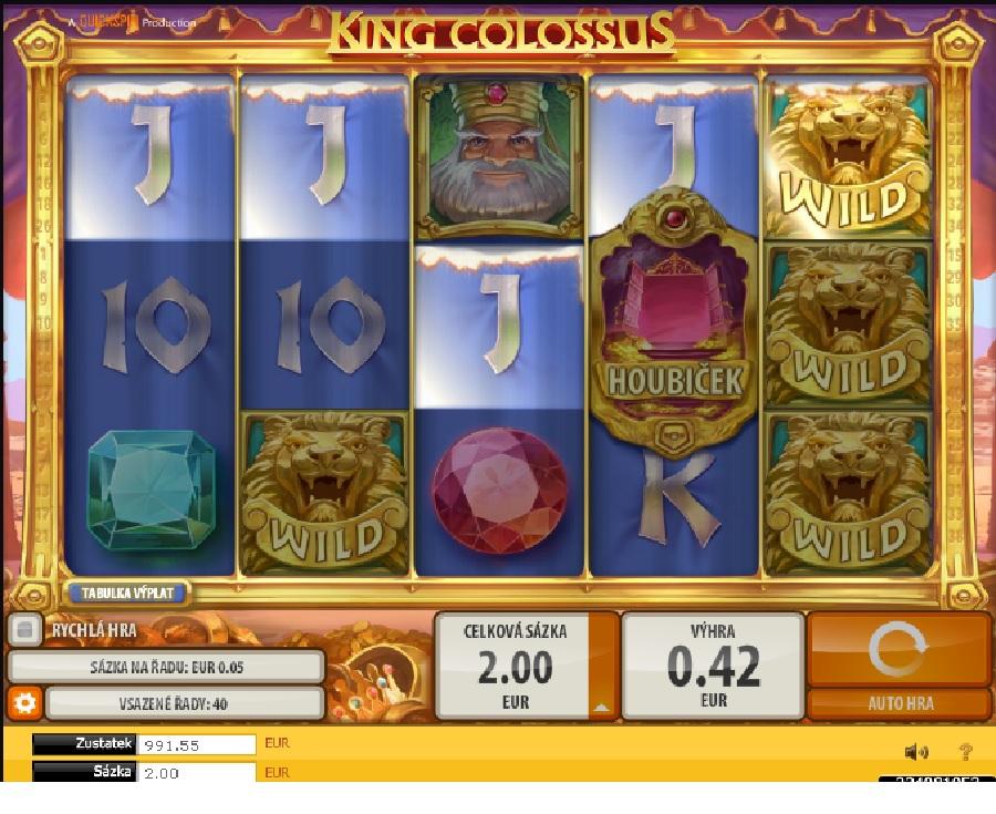 Výherní automaty King Colossus