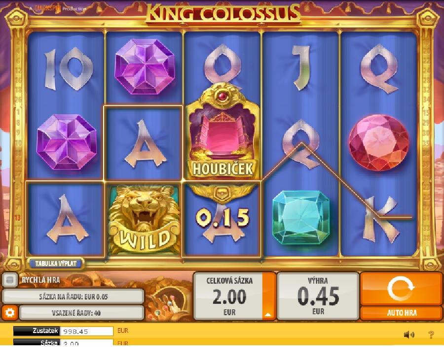 King Colossus automatová hra