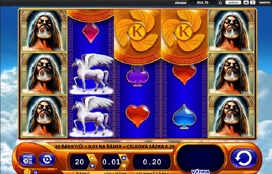 Kronos hrací automaty
