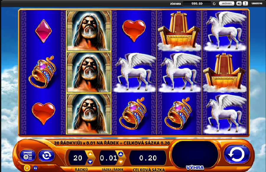 Výherné automaty Kronos