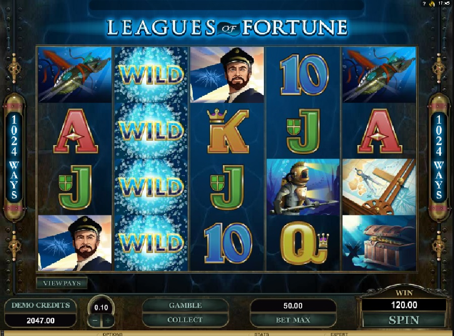 Výherné automaty Leagues of Fortune