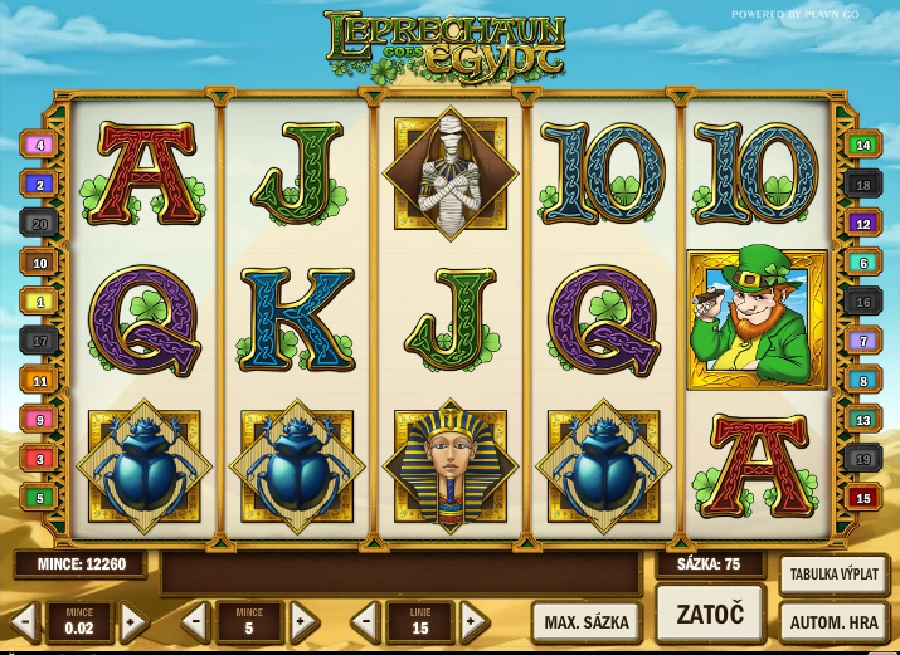 Leprechaun goes Egypt automaty