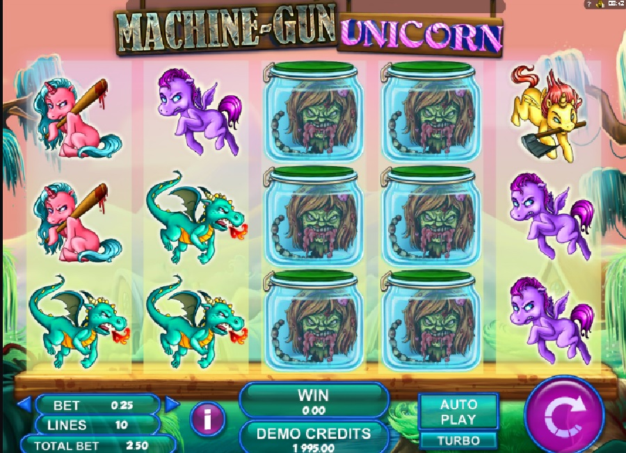 Machine gun Unicorn automat