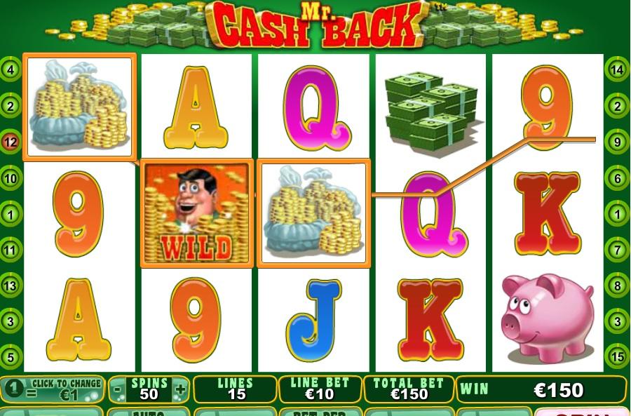 Maszyny wrzutowe Mr Cashback
