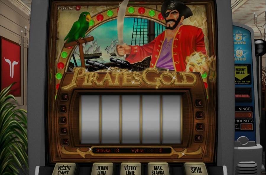 Výherné automaty Pirates Gold
