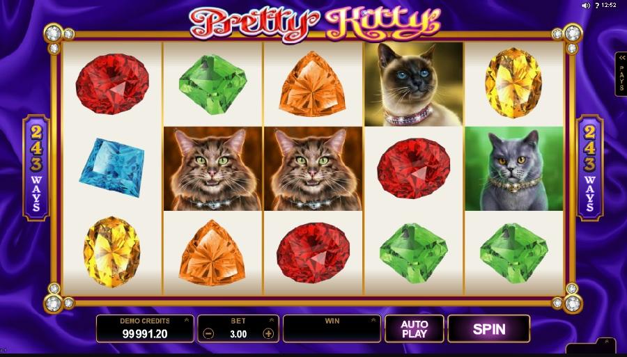 Pretty Kitty hracie automaty