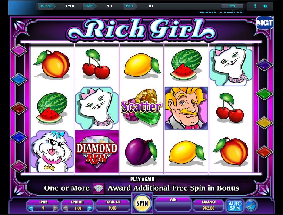 She's a rich girl automaty