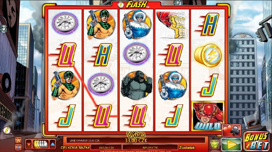 Hrací automaty The Flash