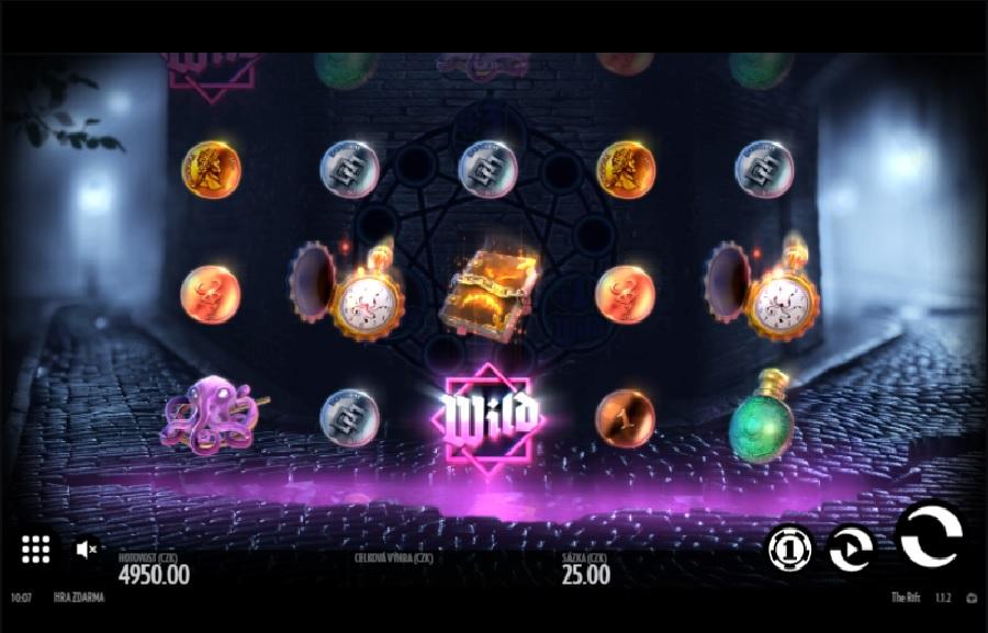 Výherné automaty The Rift