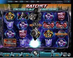 Výherní automaty Transformers