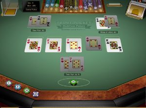Triple pocket Hold´em automat