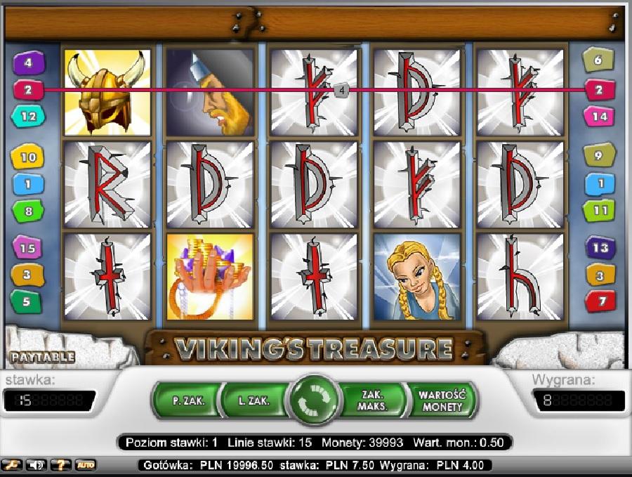 Viking´s Treasure darmowe automaty do gry