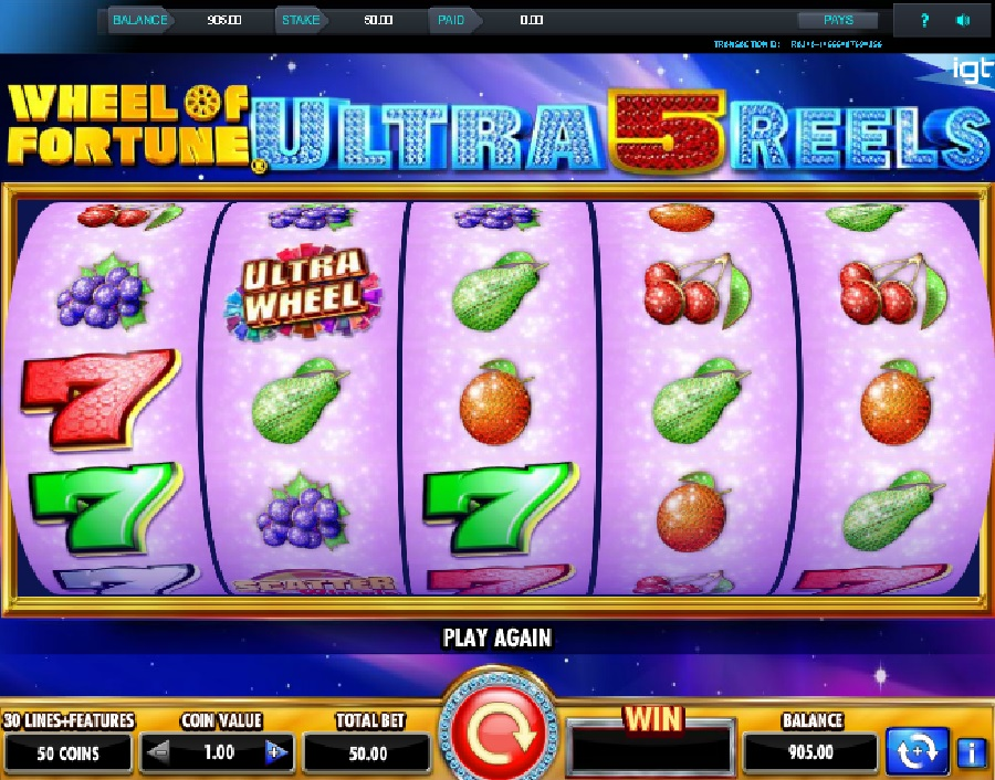 Wheel of Fortune Ultra 5 Reels online