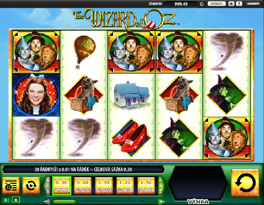 Online automat Wizard of Oz
