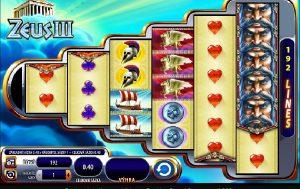 Výherné hracie automaty Zeus 3