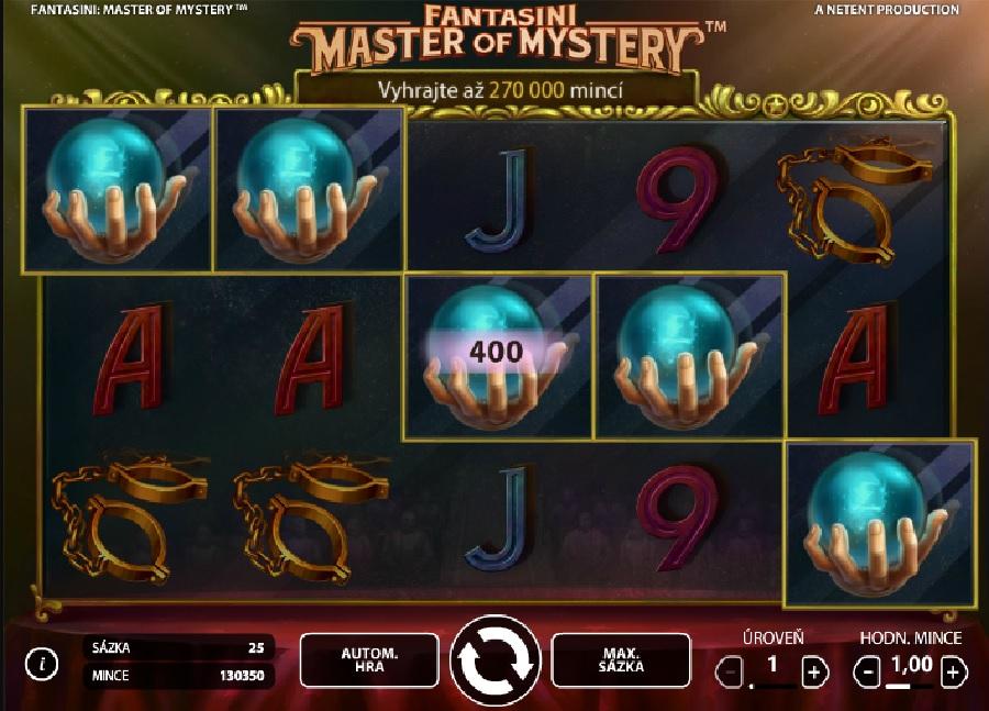 Fantasini: Master of Mystery automaty