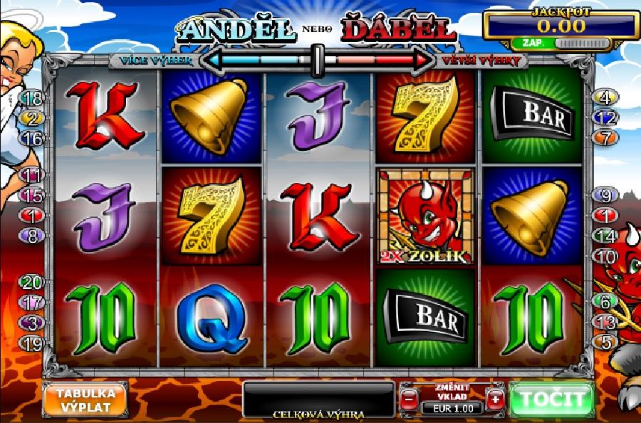 Angel Or Devil výherné hracie automaty