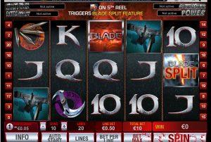 Výherné hracie automaty Blade