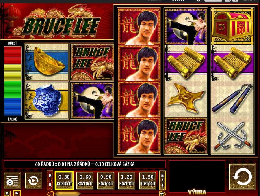 Výherní automaty Bruce Lee