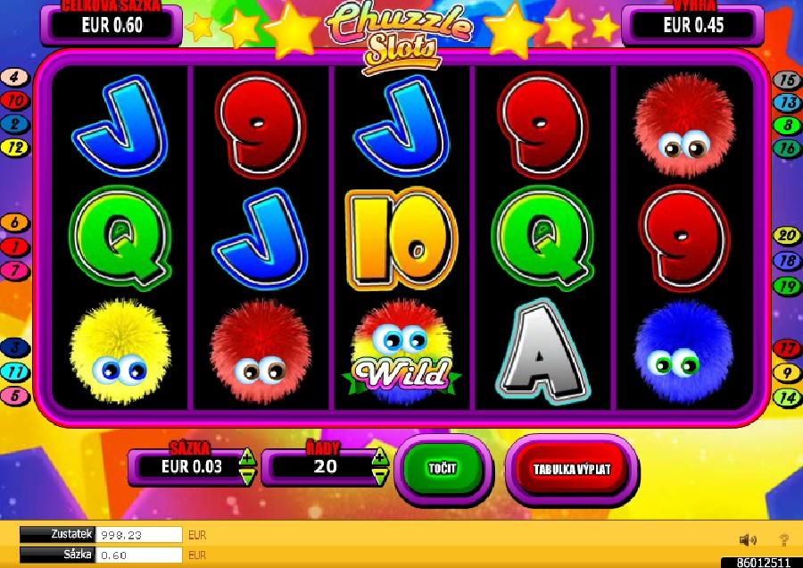 Výherné hracie automaty Chuzzle