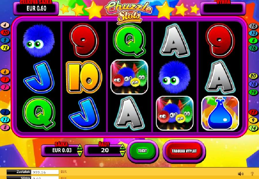 Hrací automaty Chuzzle online