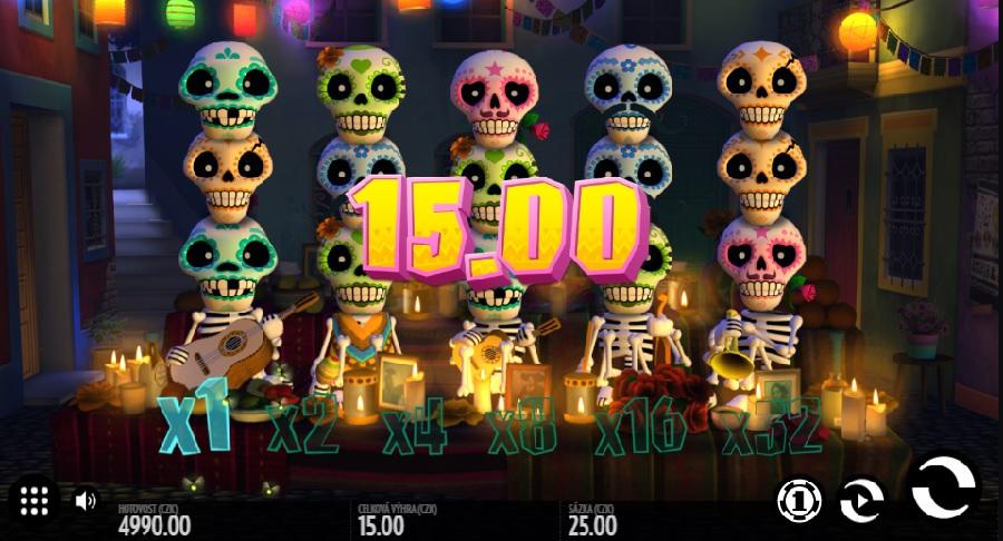 Automatová hra Esqueleto Esplosivo