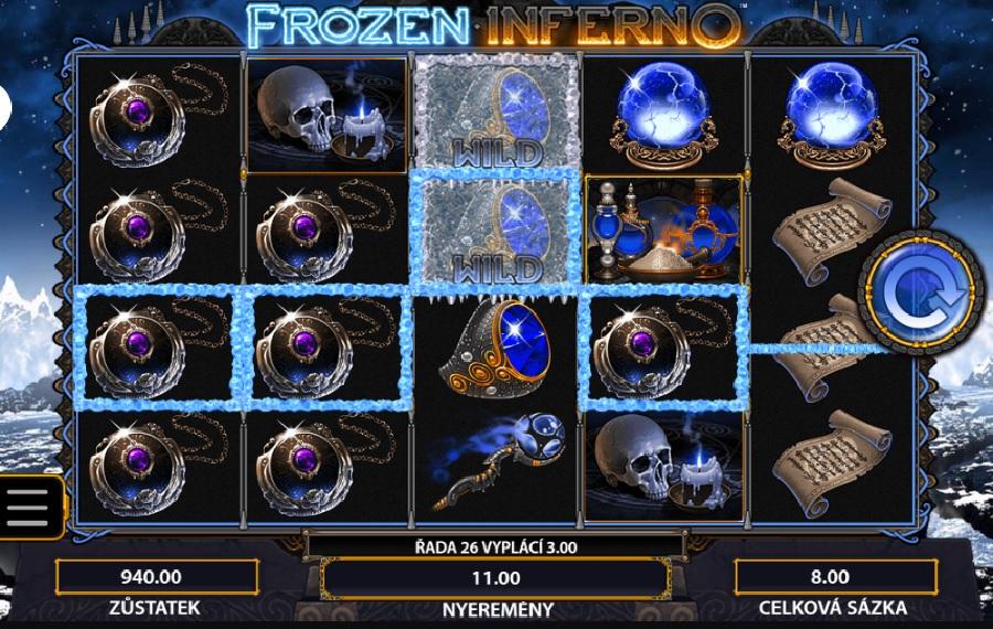 Výherní automaty Frozen Inferno