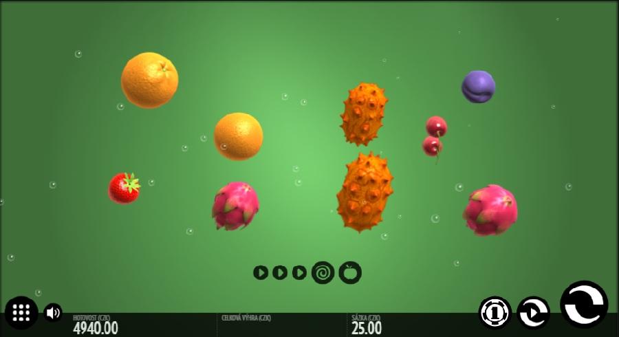 Fruit Warp automatová hra