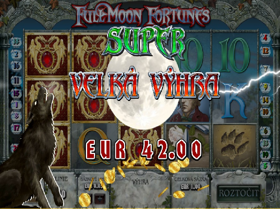 Full moon fortunes automaty