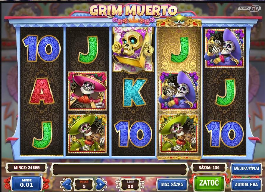 Výherné automaty Grim Muerto
