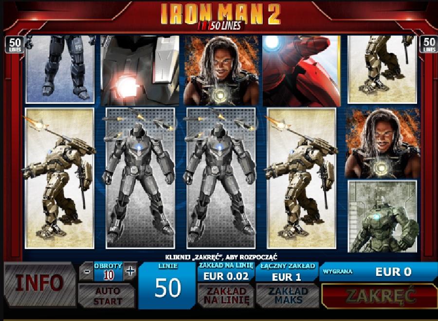 Maszyny Iron Man 2