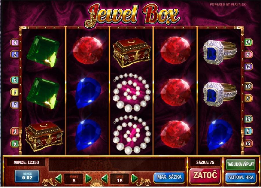 Výherní automaty Jewel Box