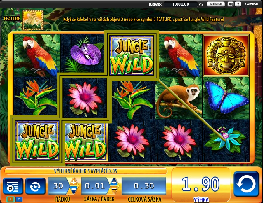 Jungle Wild automaty online