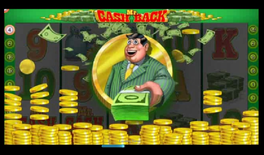 Mr. Cashback slot game