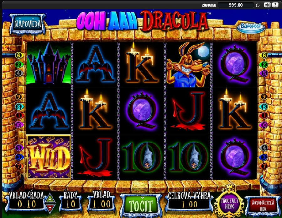 Automaty Ooh Aah Dracula