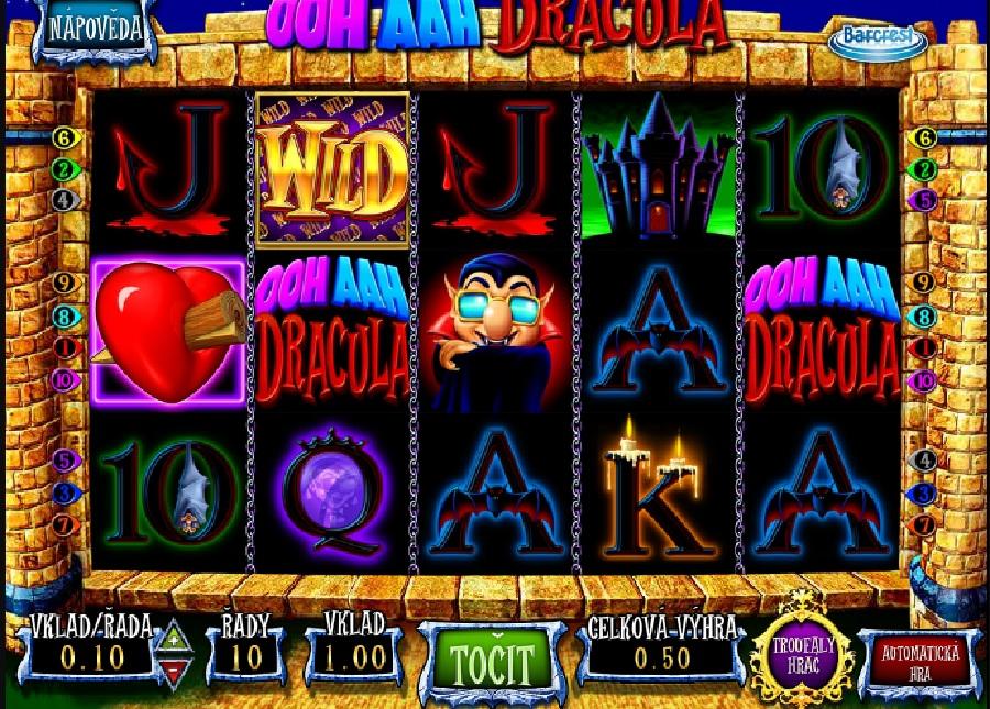 Ooh Aah Dracula výherný automat