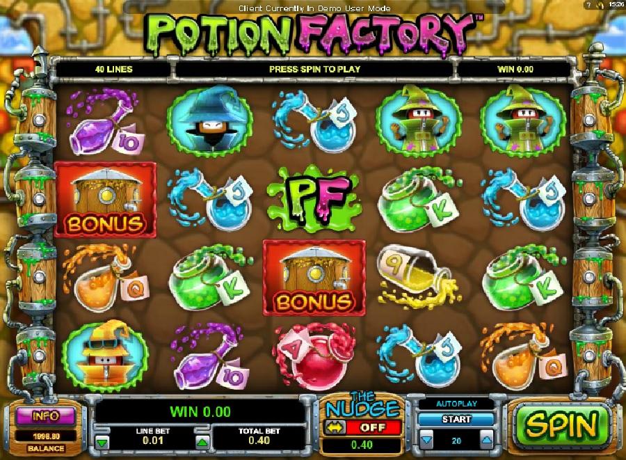 Automaty Potion Factory online