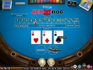 Red Dog automatová hra