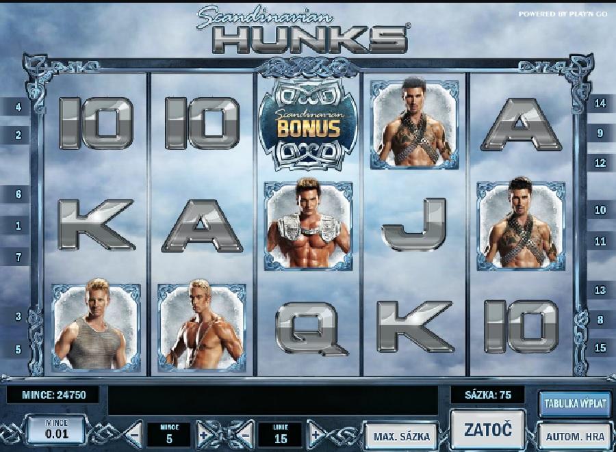 Výherní automat Scandinavian Hunks