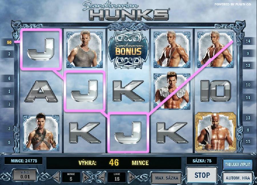 Scandinavian Hunks automaty online